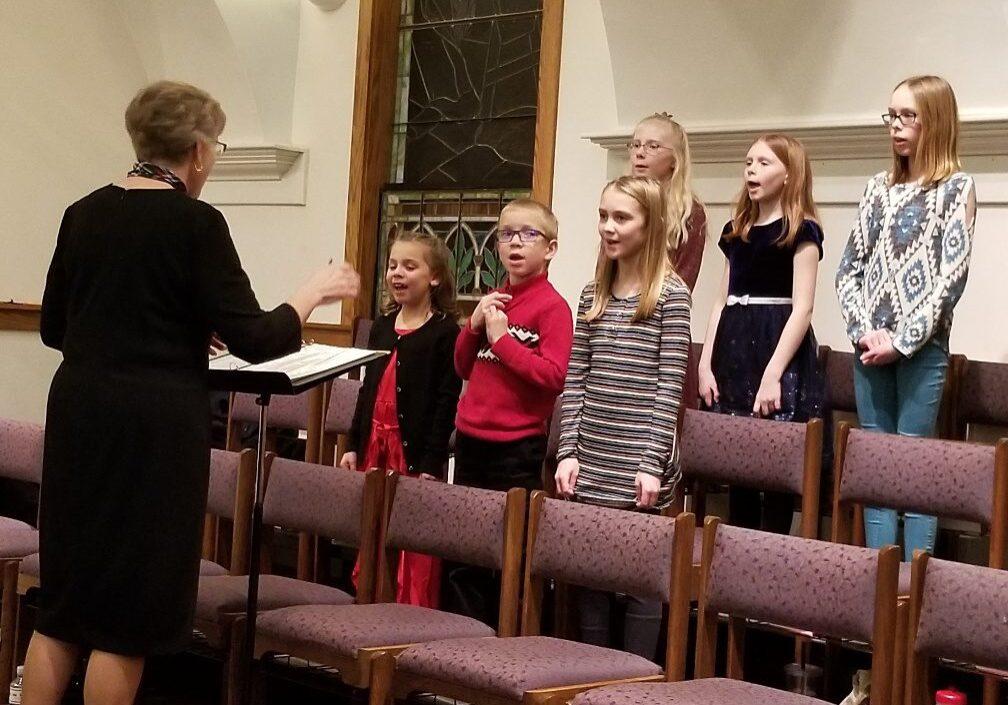 Youth Choir group